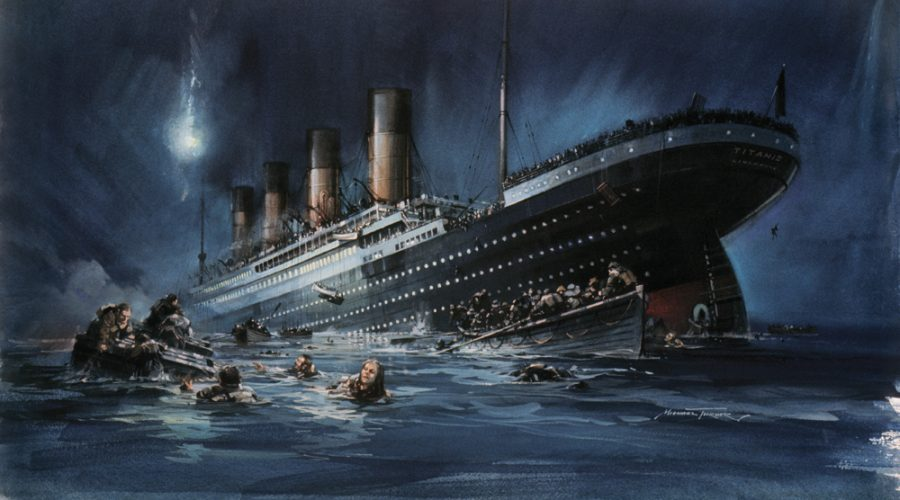 Титаник, история